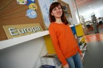 María Grigorescu, voluntaria