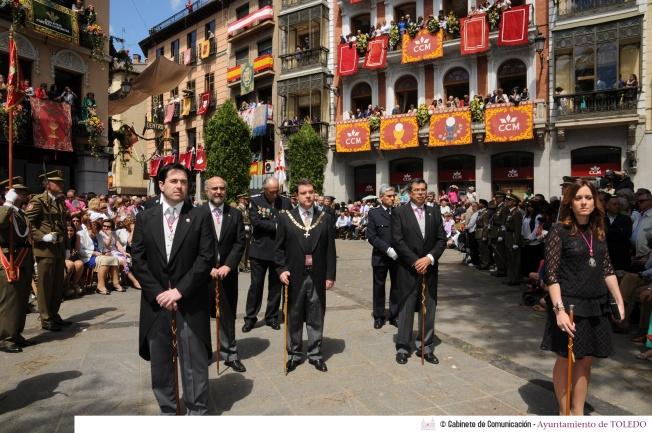 corpus Toledo, Page, religión, PSOE, laicismo, Albacete