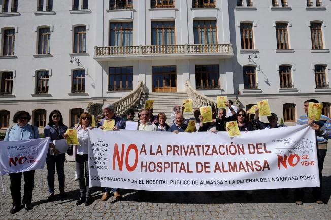 Marea Blanca, coordinadora, hospital, Villarrobledo, Almansa, Albacete