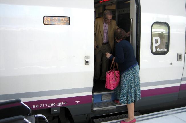 Viaje, AVE, Alicante, renfe, Albacete