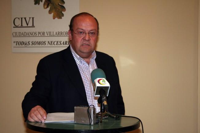 CIVI, Villarrobledo, José Antonio Cabañero, Ayuntamiento