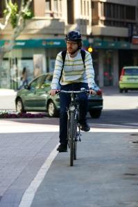 Alvaro Peñarrubia, ciclismo urbano, curba, ciclista, Albacete