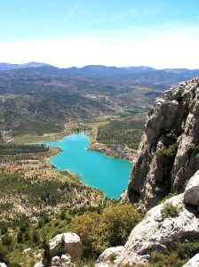Pantano del Taibilla desde El Alcaboche