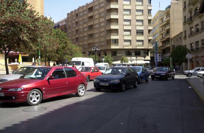 ruido, trafico, hosteleros, terrazas, zona, Albacete